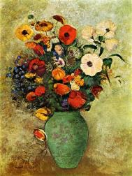 bouquet-of-flowers-in-a-green-vase.jpg!HalfHD