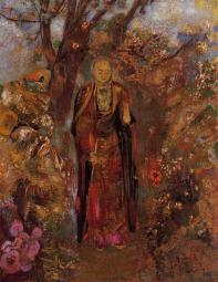 buddha-walking-among-the-flowers-1905.jpg!HalfHD