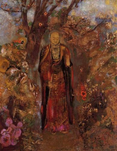 buddha-walking-among-the-flowers-1905.jpg!HalfHD
