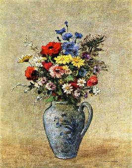 flowers-in-a-vase-with-one-handle.jpg!HalfHD