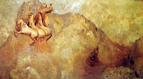 Odilon Redon - Apollo_s Chariot