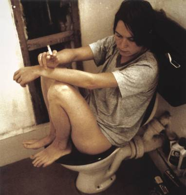 Human Toilet Revisited 1998 by Sarah Lucas born 1962