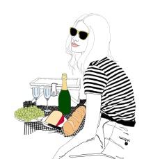 woman-picnic