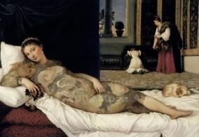 After Venus of Urbino