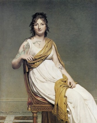Digital Art Chapter 5: Analogies, After Henriette de Verninac